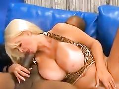 White mom big tits interracial bbc cuckold w bull