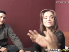 Nika Noire Deepthroats BBC Balls Deep