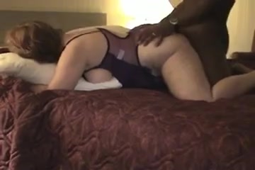 Mature wife gets cum on her big white tits